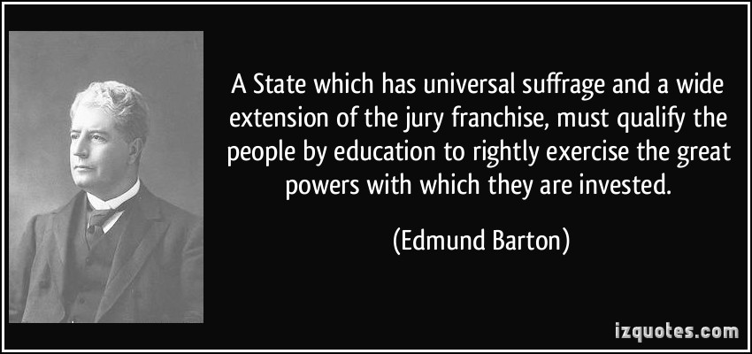 Edmund Barton's quote #3