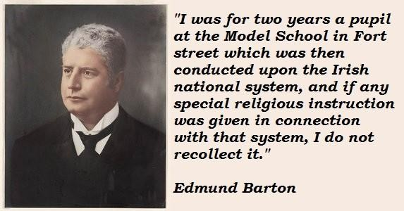Edmund Barton's quote #4