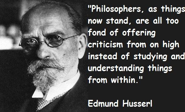 Edmund Husserl's quote #2