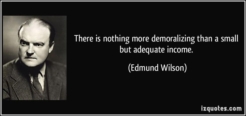 Edmund Wilson's quote #1