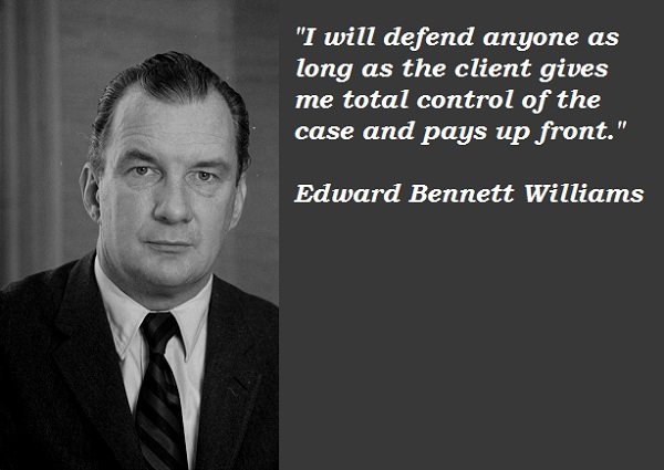 Edward Bennett Williams's quote #1