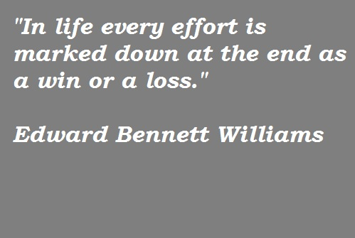 Edward Bennett Williams's quote #4