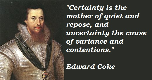 Edward Coke's quote #2