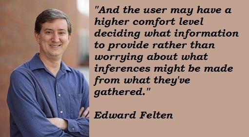 Edward Felten's quote #1