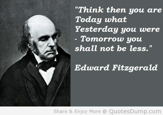 Edward Fitzgerald's quote #2
