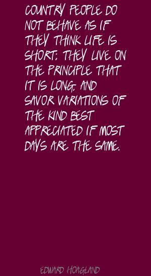 Edward Hoagland's quote #2