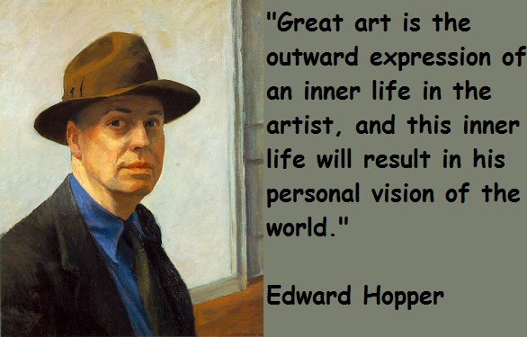 Edward Hopper's quote #5