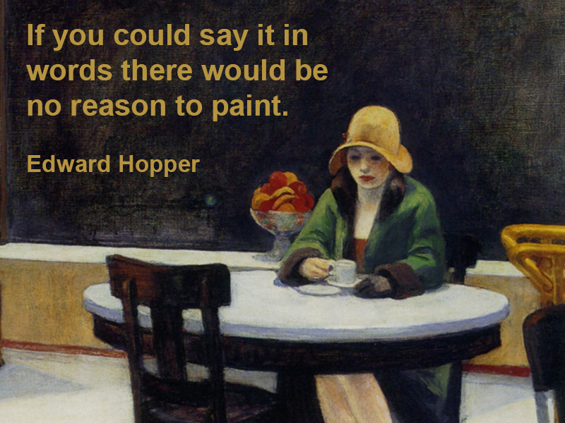 Edward Hopper's quote #6
