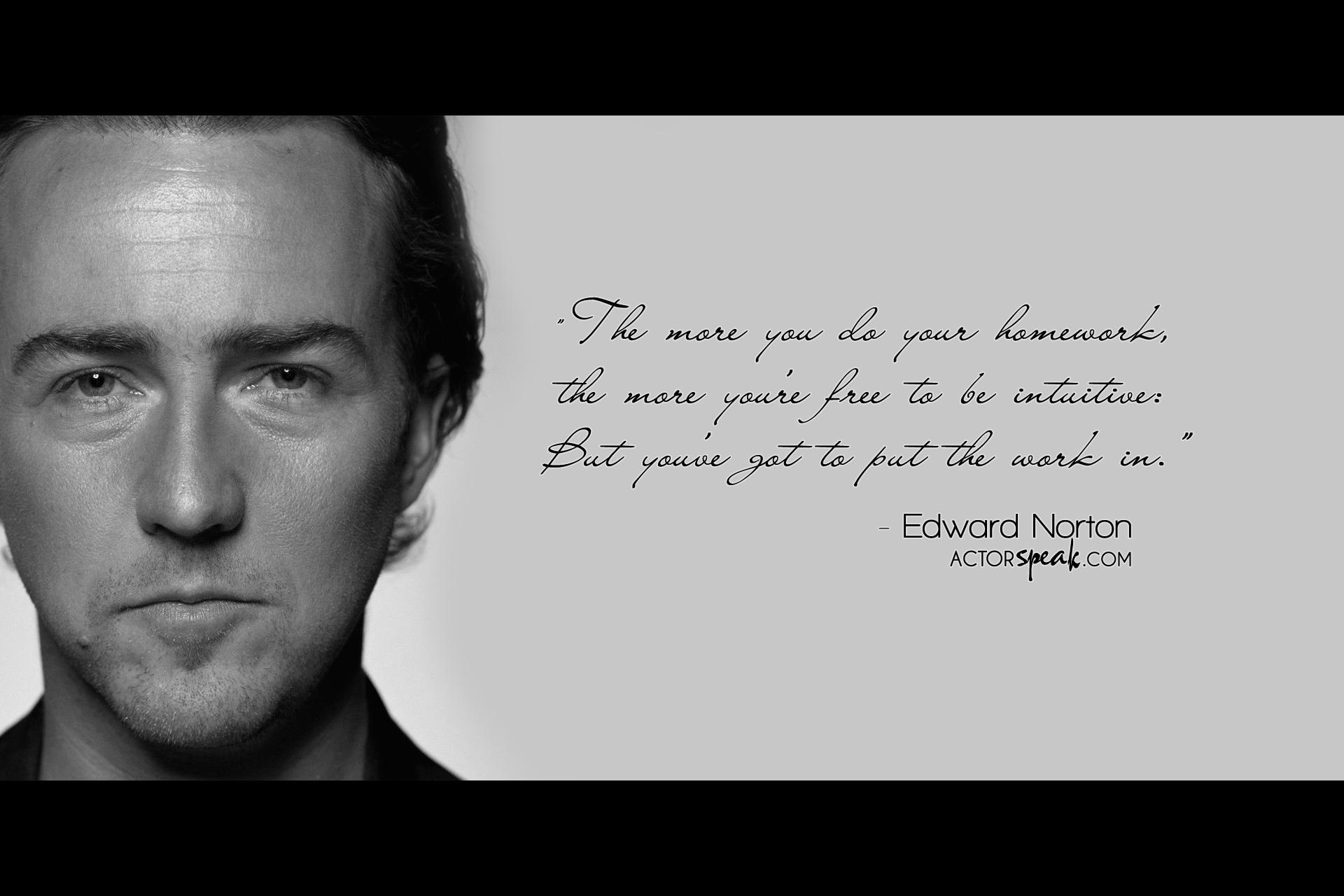Edward Norton's quote #1