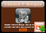 Edward P. Morgan's quote #1