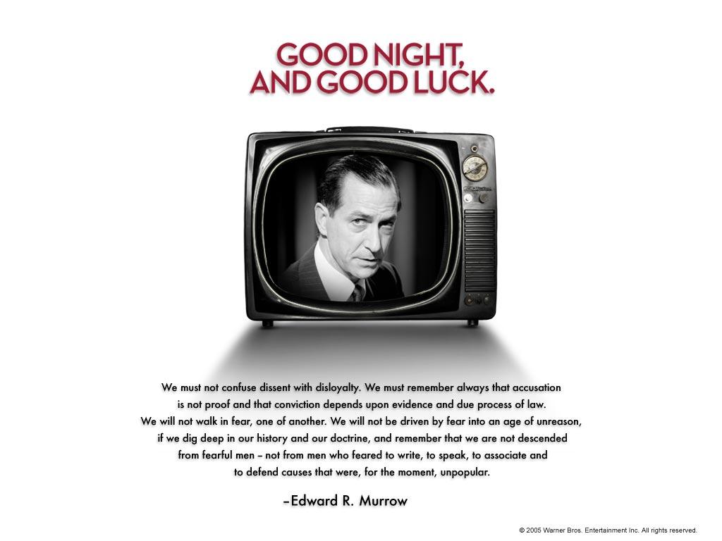 Edward R. Murrow's quote #2