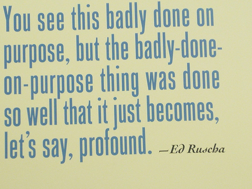Edward Ruscha's quote #1