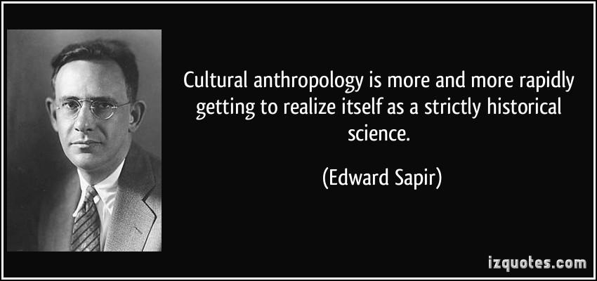 Edward Sapir's quote #4