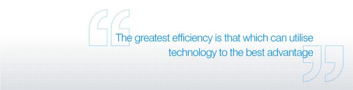 Efficiencies quote #2