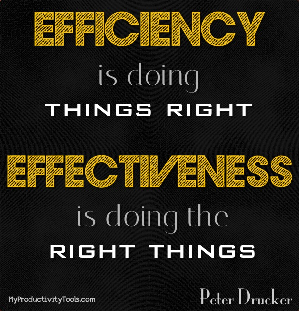 Efficiency quote #1