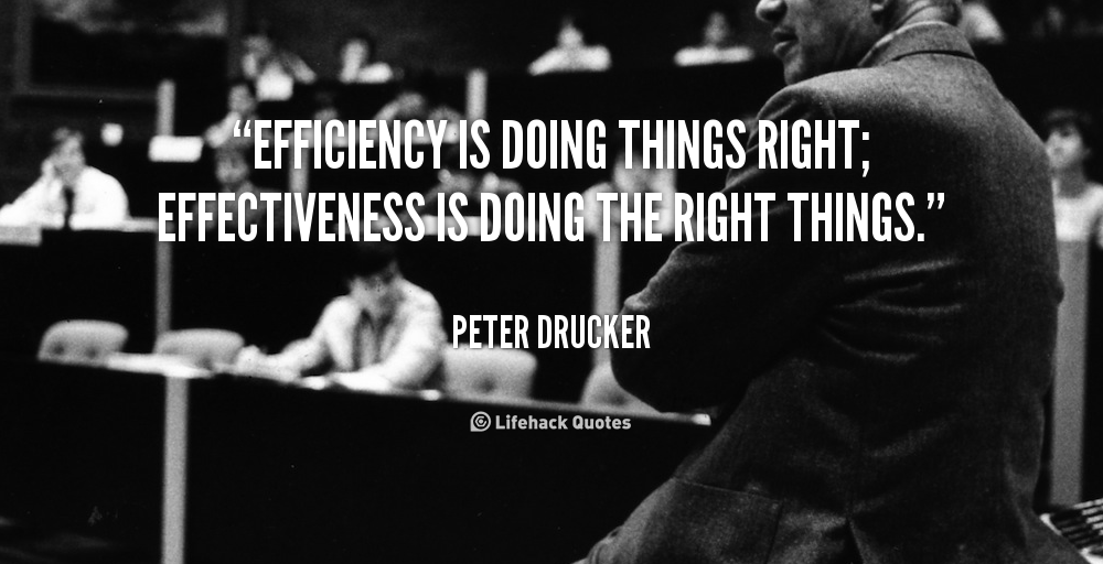 Efficiency quote #2