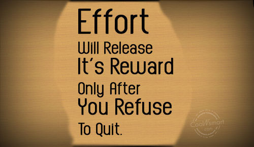 Effort quote #2