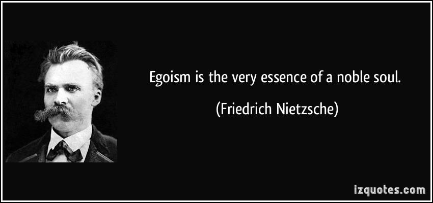 Egoism quote #1