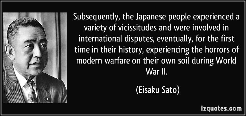 Eisaku Sato's quote #3