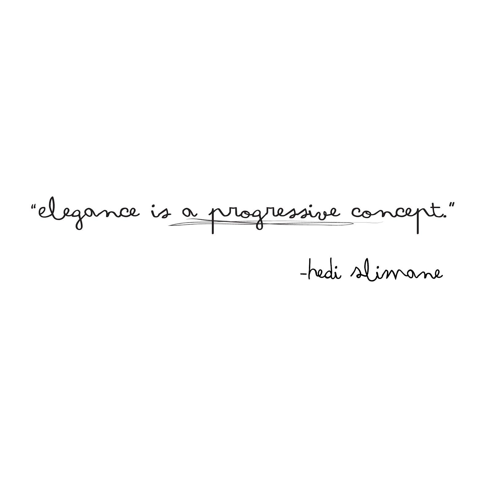 Elegance quote #1