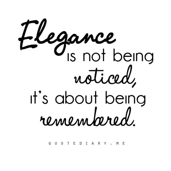 Elegance quote #5