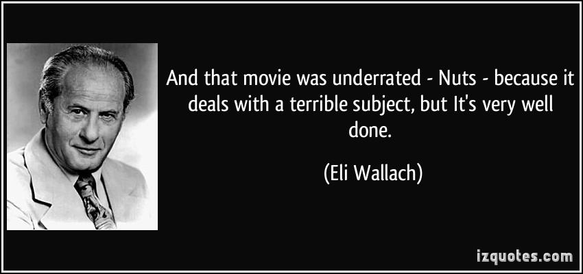 Eli Wallach's quote #1