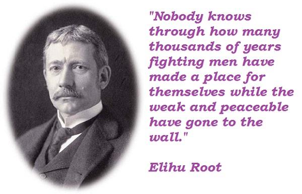 Elihu Root's quote #2