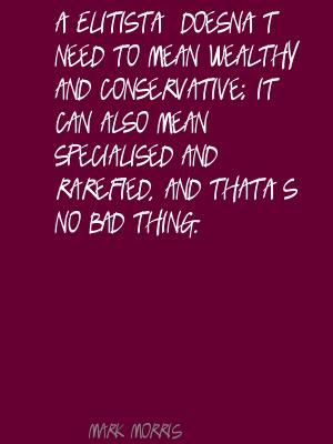 Elitist quote #1