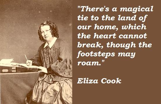 Eliza Cook's quote