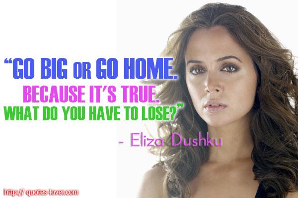 Eliza Dushku's quote #7