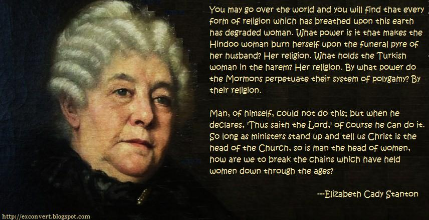 Elizabeth Cady Stanton's quote #2