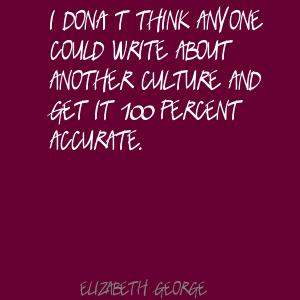 Elizabeth George's quote #2