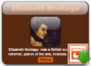 Elizabeth Montagu's quote #1