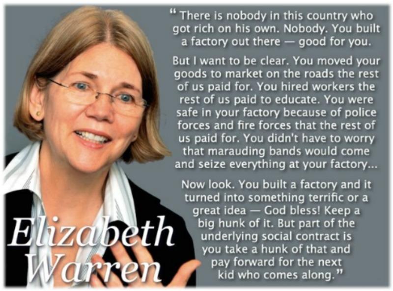 Elizabeth Warren's quote #1