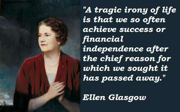 Ellen Glasgow's quote #1