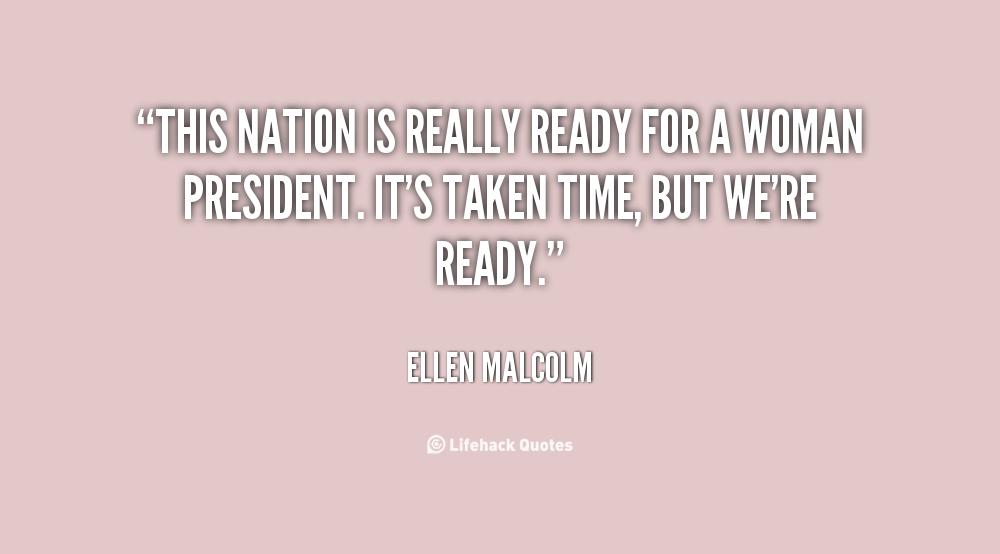 Ellen Malcolm's quote #7