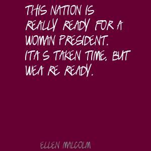 Ellen Malcolm's quote #5