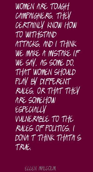 Ellen Malcolm's quote #4
