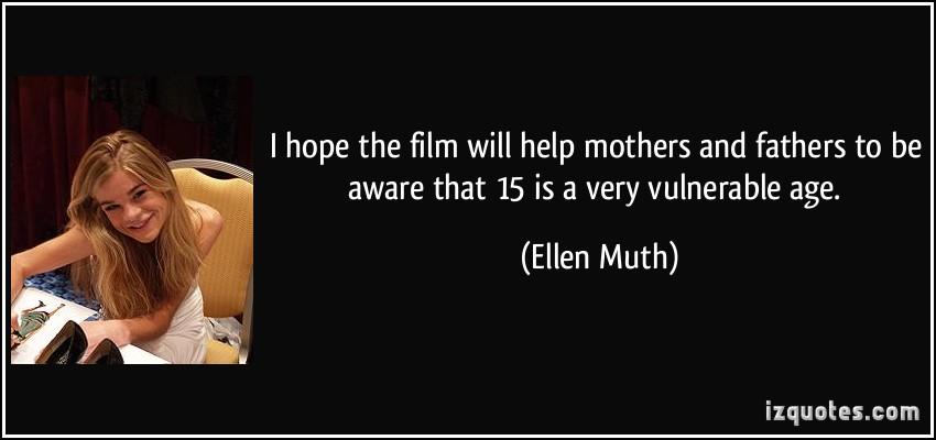 Ellen Muth's quote #5