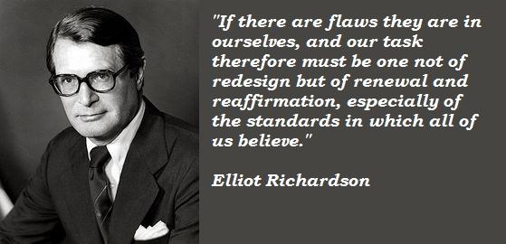 Elliot Richardson's quote #4
