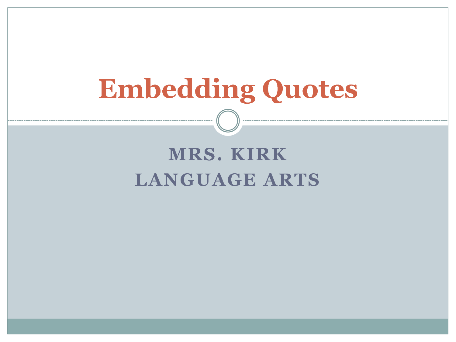 Embedded quote #1