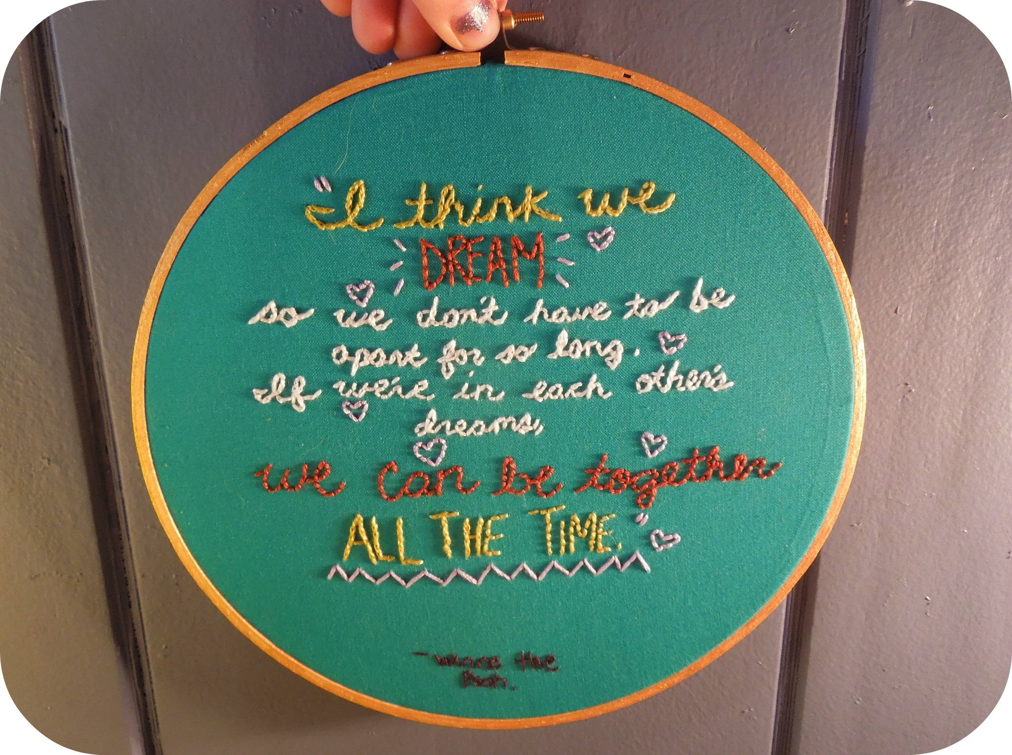 Embroidery quote #2