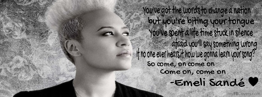 Emeli Sande's quote #8