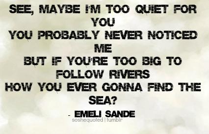 Emeli Sande's quote #2