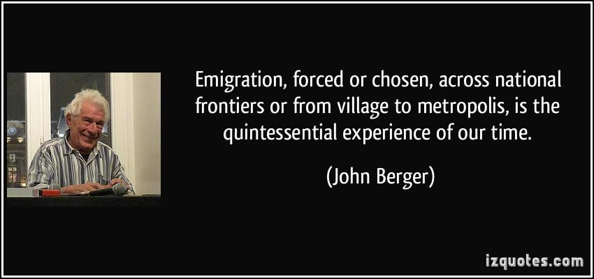 Emigration quote #1