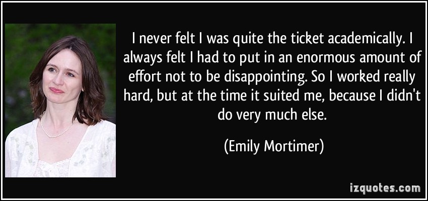 Emily Mortimer's quote #5