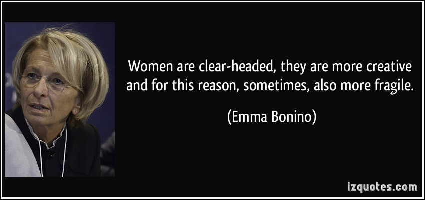 Emma Bonino's quote #1