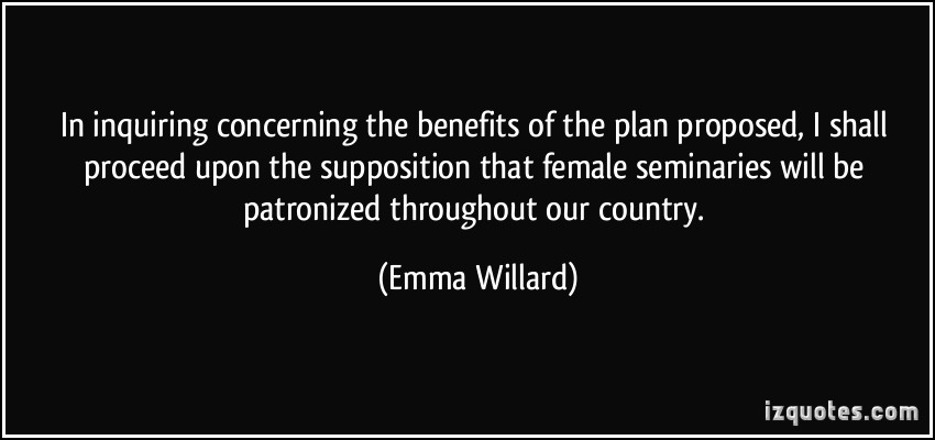 Emma Willard's quote