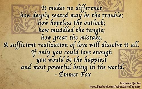 Emmet Fox's quote #2
