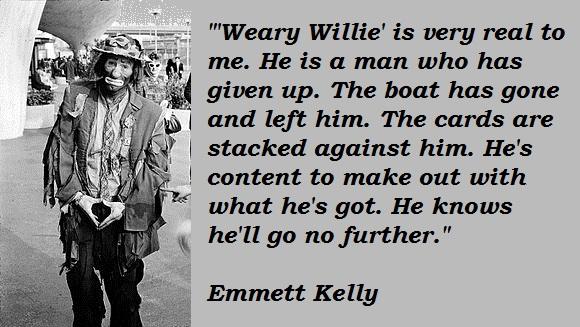 Emmett Kelly's quote #2